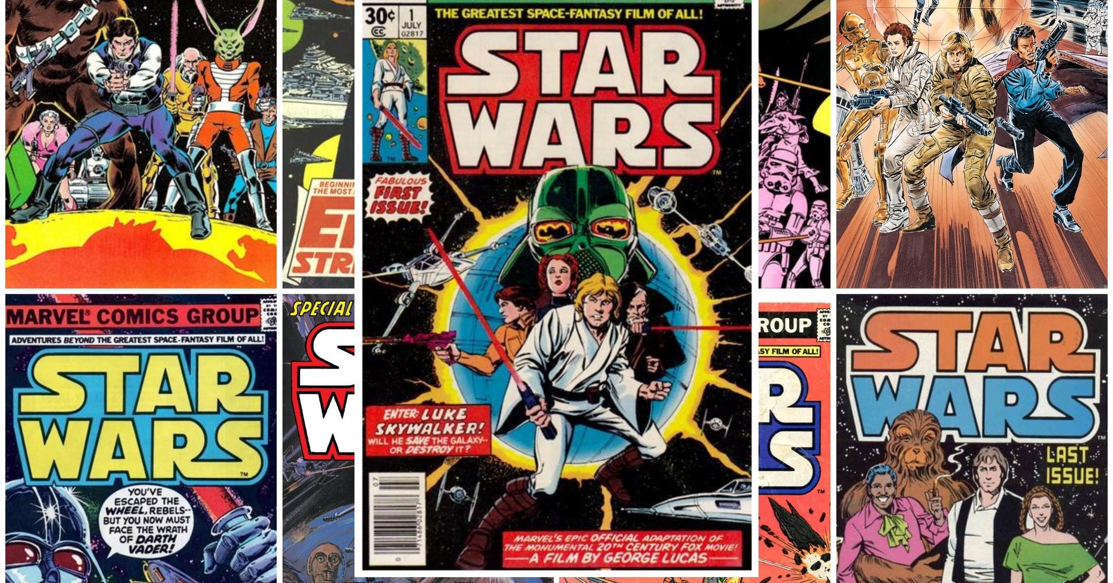 Los Cómics Star Wars clásicos de Marvel | La Biblioteca del Templo Jedi