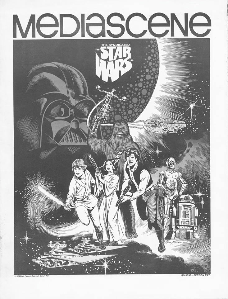 STAR WARS AFICIONADO WEBSITE: EXPANDED UNIVERSE! FORTY YEARS OF THE RUSS  MANNING 'STAR WARS' NEWSPAPER STRIPS